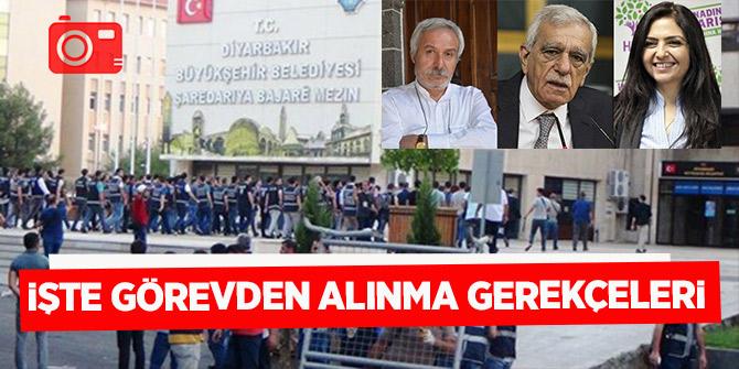 Diyarbakır, Mardin ve Van Büyükşehir Belediye Başkanları neden görevden alındı?
