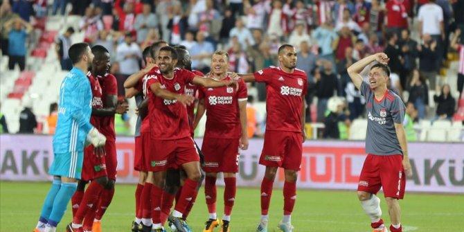 Sivasspor Süper Lig'e iyi başladı