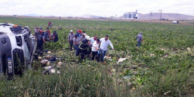 Nevşehir'de trafik kazası! Ölü ve yaralılar var