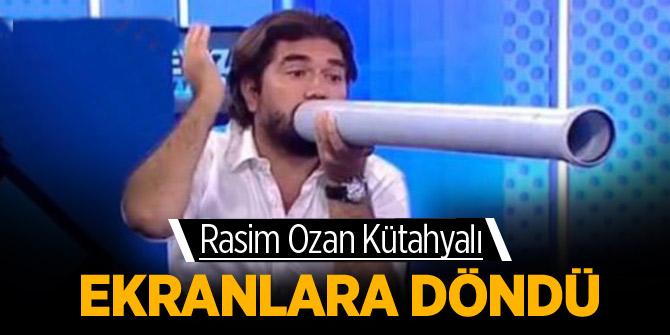 Rasim Ozan Kütahyalı'nın yasağı bitti