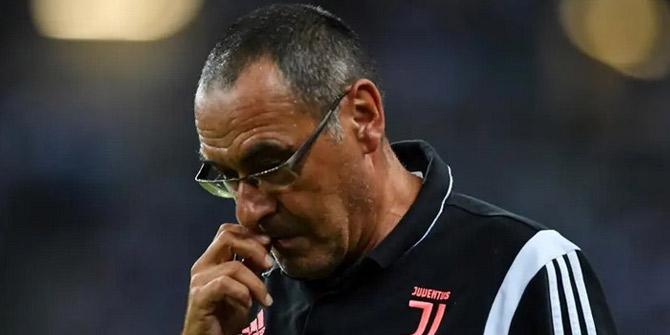 Juventus'un teknik direktörü Sarri'den kötü haber