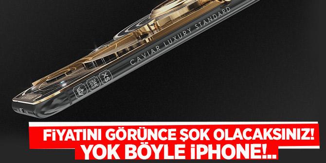 Yok böyle iPhone!.. Fiyatını görünce şok olacaksınız!
