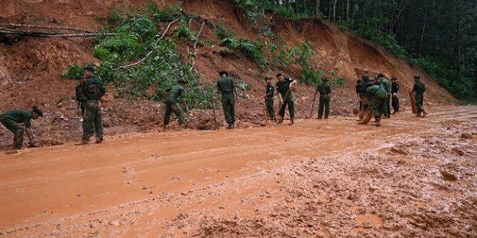 Myanmar'da toprak kayması! Çok sayıda ölü var
