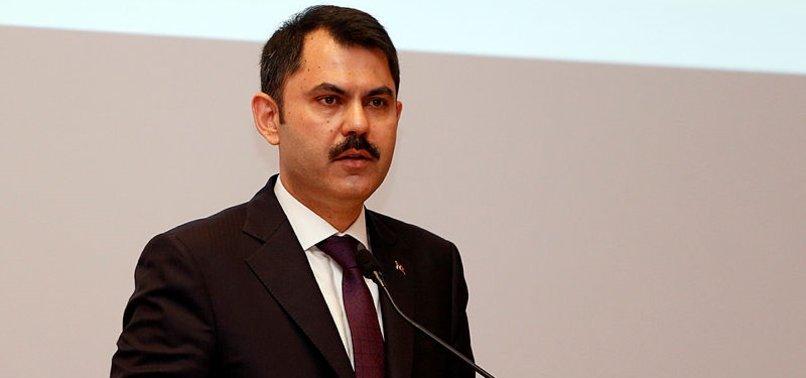 Bakan Kurum net konuştu! 'İmara açılması söz konusu olamaz'