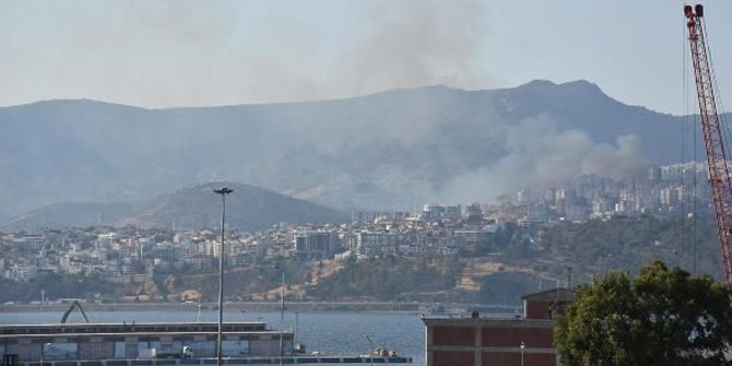 İzmir'de bir yangın daha çıktı