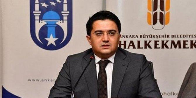 Ankara'da Halk Ekmek Genel Müdürü Sarıduman görevi bıraktı