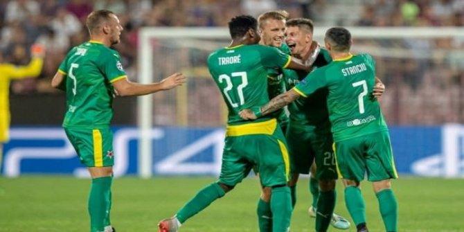 Çakır'ın yönettiği maçı Slavia Prag kazandı