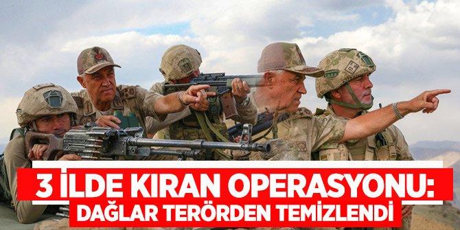 Jandarma Genel Komutanı: Dağlar teröristlerden tamamen temizlenmiş durumda