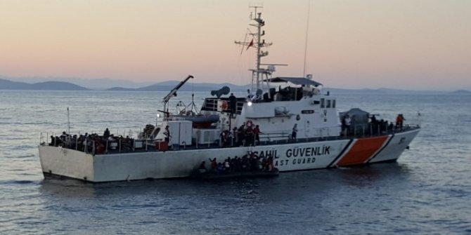 MSB: 149 düzensiz göçmen kurtarıldı