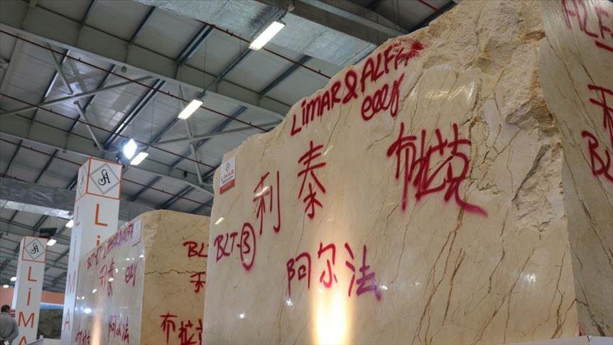 Çin'e 5 milyon ton Türk mermeri gönderildi