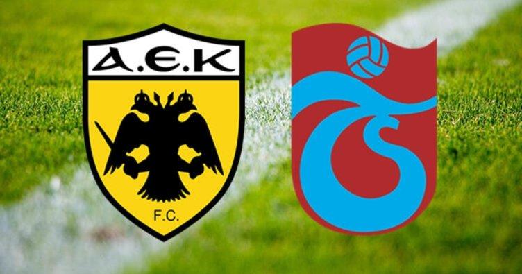 AEK Trabzonspor maçı saat kaçta, hangi kanalda?