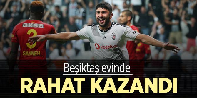 Beşiktaş evinde rahat kazandı