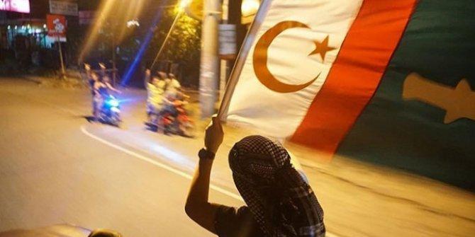 Özerk Bölgeden sonra yeni bayraklarıda kabul edildi