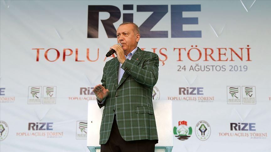 Erdoğan müjdeyi verdi! 1,5 yıl içerisinde hizmete alınacak