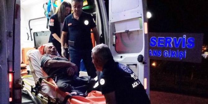 Yürüme engelli adamı dövdüler
