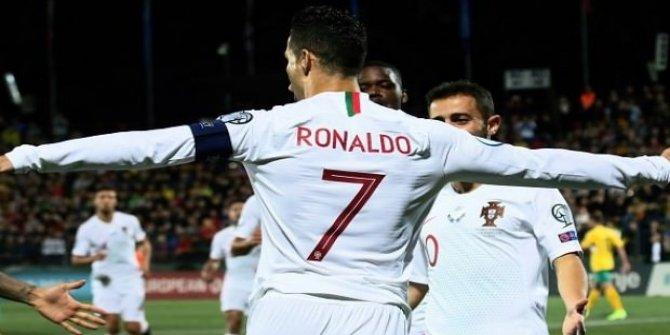 Ronaldo'dan hat-trick!
