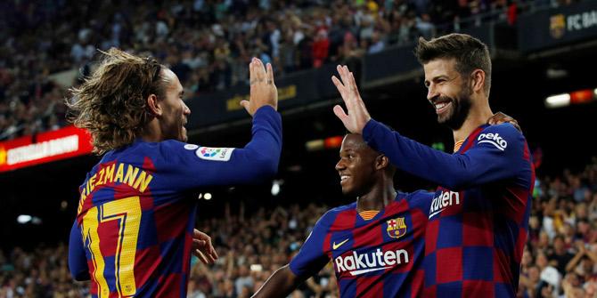 Barcelona, La Liga'da Valencia'yı farklı yendi