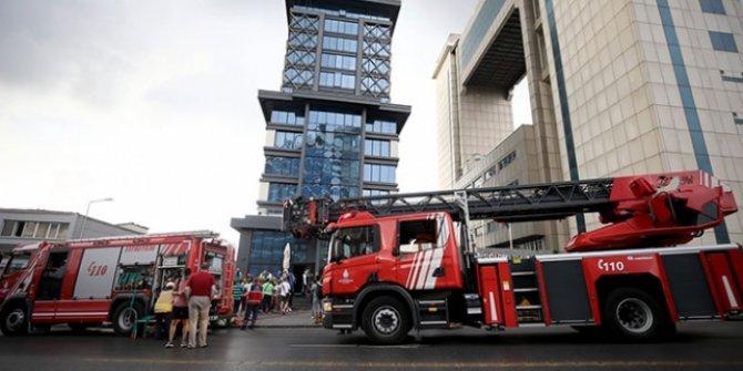 İstanbul Bayrampaşa'da otel yangını