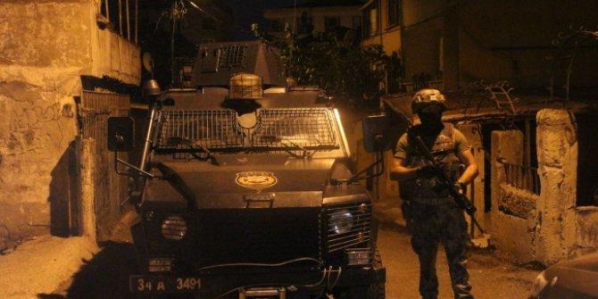 İstanbul'da 4 ilçede uyuşturucu operasyonu: 35 gözaltı
