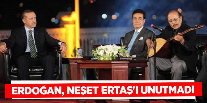 Erdoğan, Neşet Ertaş'ı ölümünün 7. yılında unutmadı