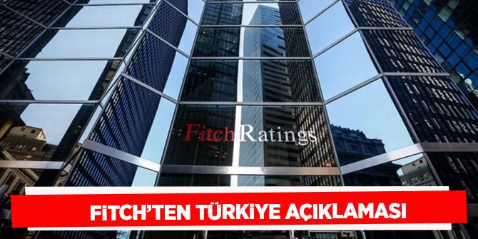 """Fitch  """"Türkiye'de enflasyon düşüyor, büyüme iyileşiyor"""""""