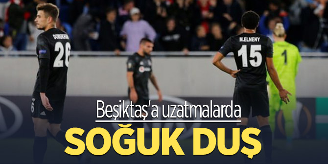Beşiktaş önde başladı ama tutunamadı
