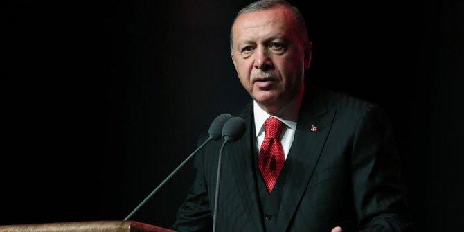 """Cumhurbaşkanı Erdoğan: """"Manevi olarak yıkıma uğramış bir medeniyetin..."""""""