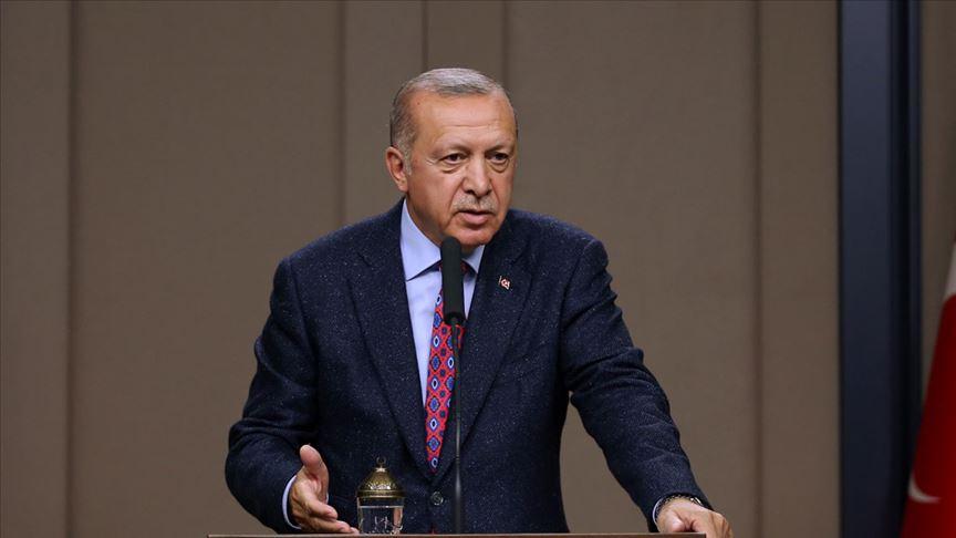 Cumhurbaşkanı Erdoğan: Sınır boylarında hazırlıklarımız tamamlandı