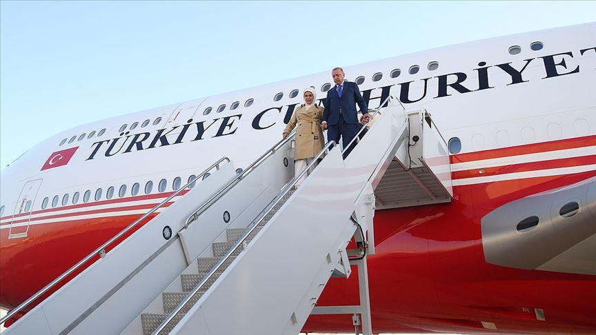 Cumhurbaşkanı Erdoğan'a ABD'de