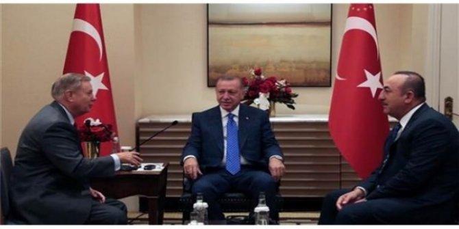 Cumhurbaşkanı Erdoğan, Lindsey Graham'ı kabul etti!