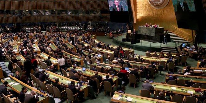 Dünyanın bütün gözleri BM Genel Kurulu'nda