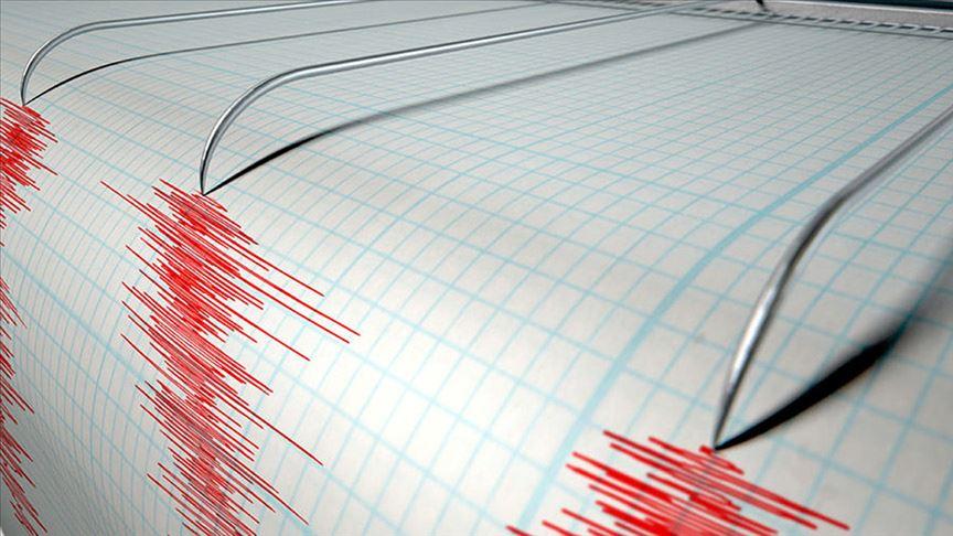 Muğla'da 3.6 büyüklüğünde deprem