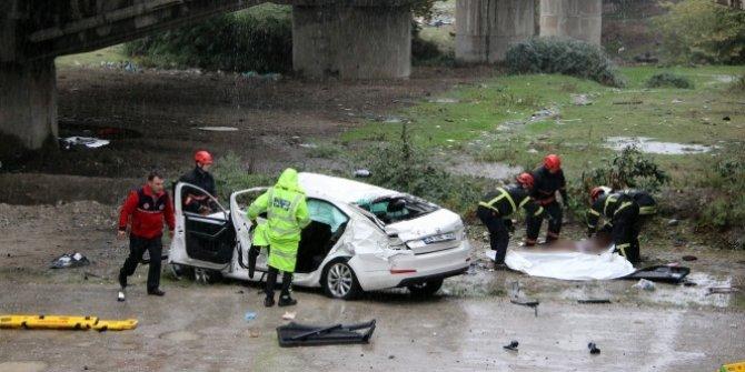 Anadolu Otoyolu'da trafik kazası: 2 ölü, 2 yaralı