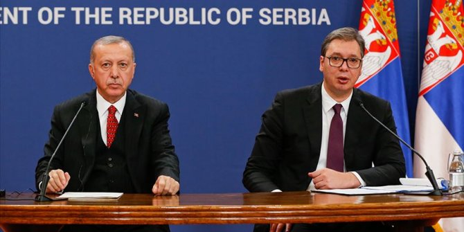 Erdoğan Belgrad'tan konsolosluk müjdesini verdi