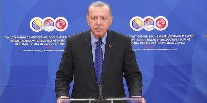 Erdoğan'dan Üçlü Liderler Zirvesi'nin ardından önemli açıklamalar!
