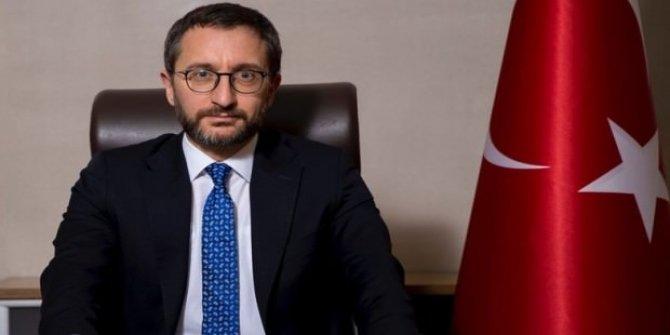 Fahrettin Altun: 'Dünya, Türkiye'yi desteklemelidir!'