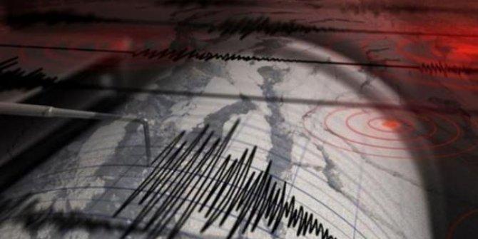 Silivri açıklarında korkutan deprem