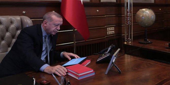 Erdoğan, liderleri arayarak bilgi verdi
