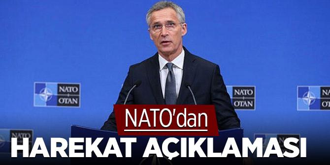 NATO'dan harekat açıklaması