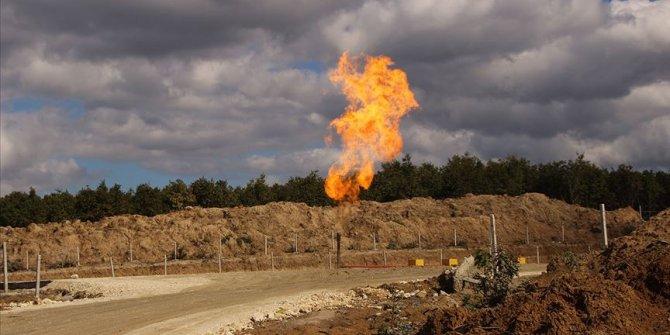 Tekirdağ'da ilk doğal gaz ateşi yandı