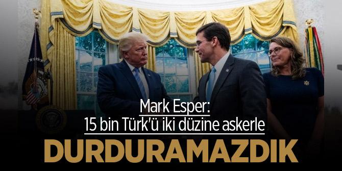 Amerika'dan Türkleri durduramadık itirafı