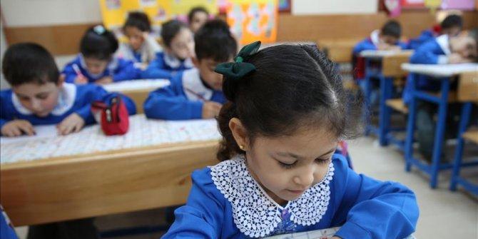 Suriye sınırında tatil edilen okullar için 'takviye çalışması'