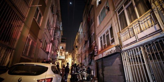 Bursa'da 5 katlı bir apartmanda yangın