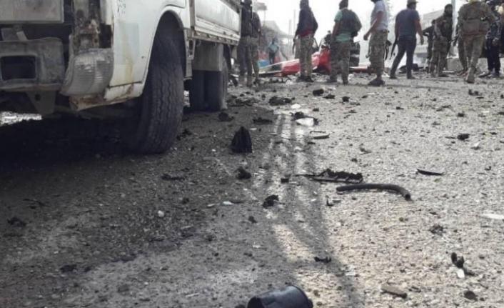 Tel Abyad'da patlama! Ölü ve yaralılar var