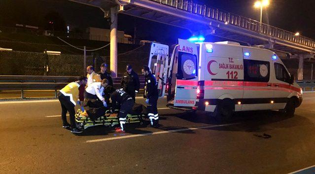 E-5 Karayolu'nda feci ölüm: Genç kadın Metrobüs üst geçidinden atladı