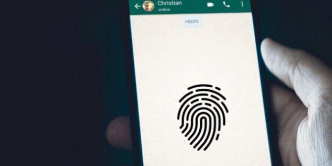 WhatsApp'a parmak izi özelliği geldi