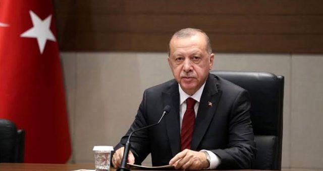 Erdoğan'dan ABD Temsilciler Meclisi'ne tepki