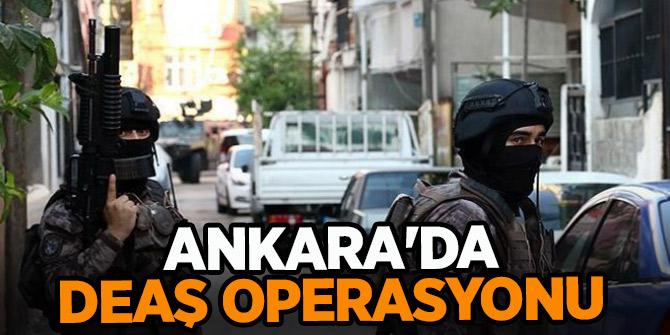 Ankara'da DEAŞ operasyonu: 17 gözaltı