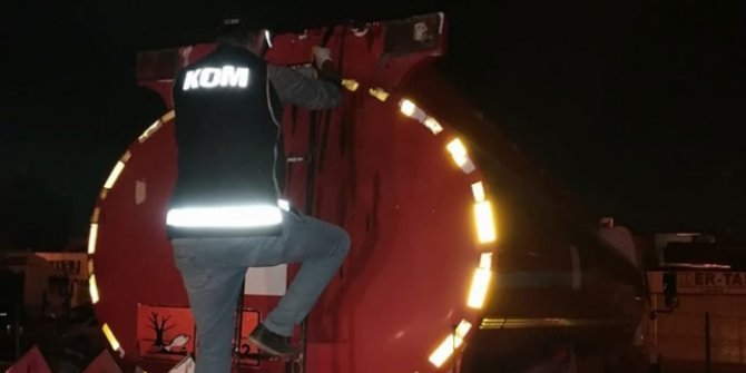 18 ton kaçak akaryakıt ele geçirildi