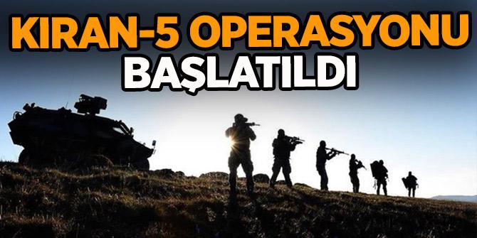 Kıran-5 Operasyonu başlatıldı